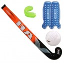 Pack Starter 2 - crosse, balle, protège-dents, protège-tibias Hockey sur Gazon